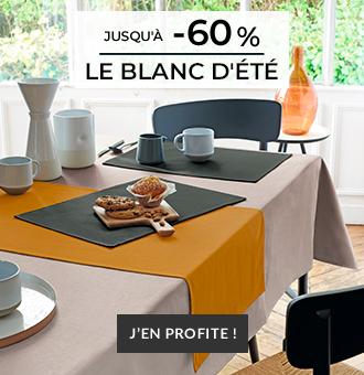 Linge de maison Linvosges : Collection Table