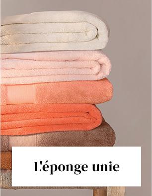 Linvosges : le linge de bain uni à -40%