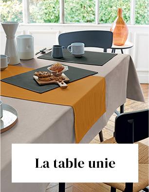 Linvosges : le linge de table uni à -40%
