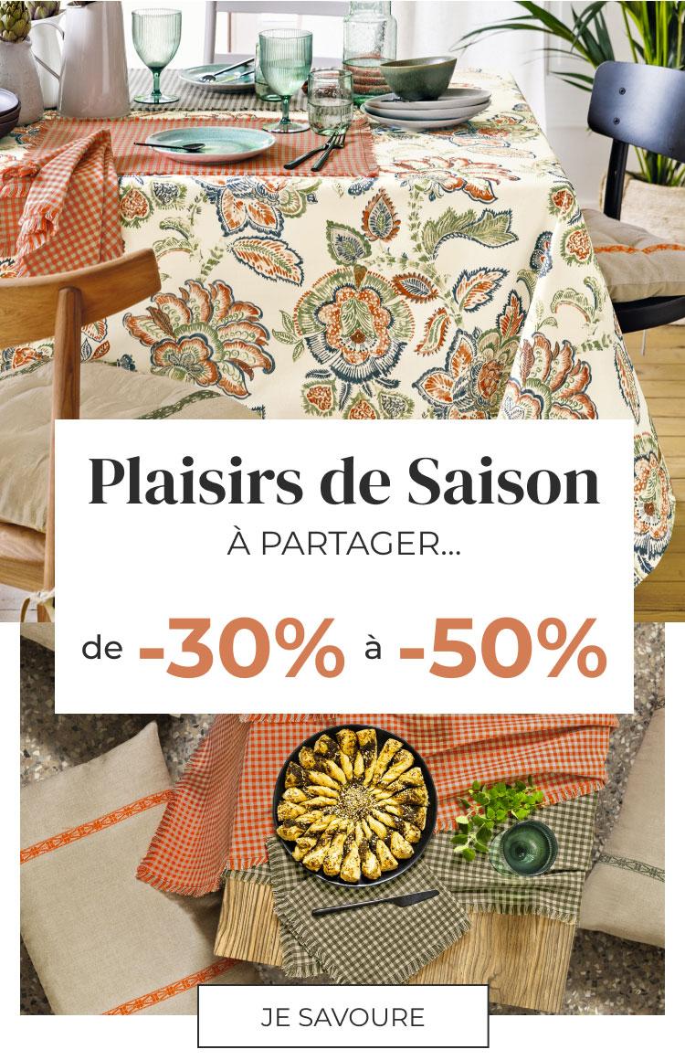 Linvosges : les plaisirs de saison à partager de -30% à -50%