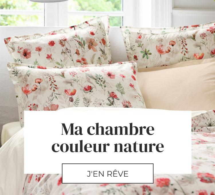 Linvosges : votre chambre couleur nature !