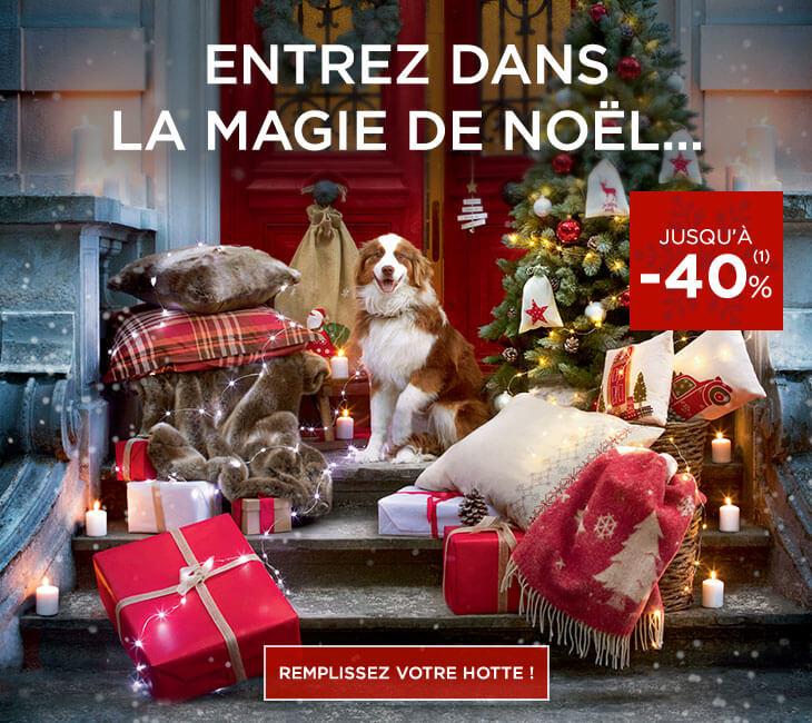 Spécial Noël avec Linvosges : réductions sur le linge de maion