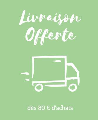Livraison offerte sous conditions pour toute commande de Linge de maison Linvosges
