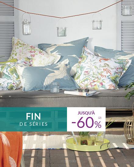 Fin de série Linvosges : -50% et -60%