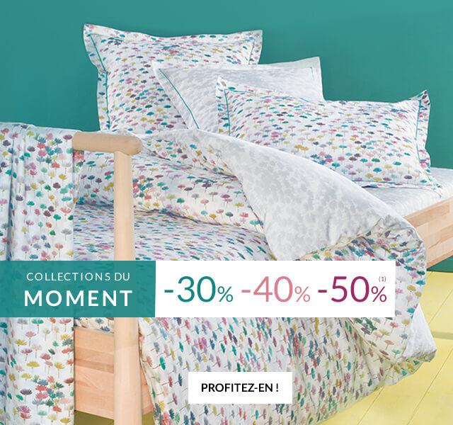 Linge de maison et linge de lit Linvosges : jusqu'à -50%