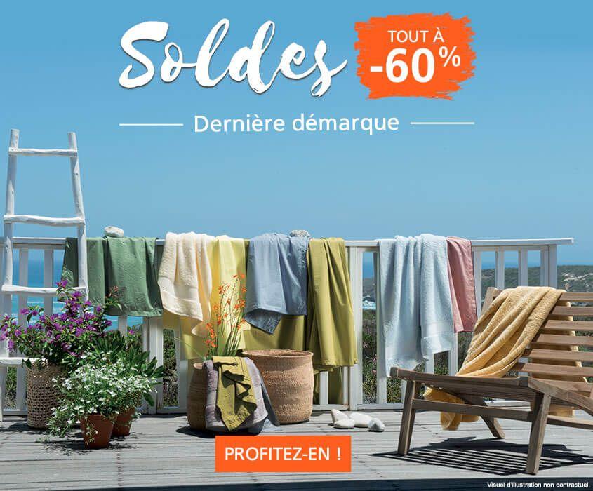 Soldes Linvosges : jusqu'à -60% sur le linge de maison
