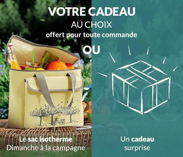 Votre cadeau Linvosges : le sac isotherme Dimanche à la campagne ou un cadeau surprise