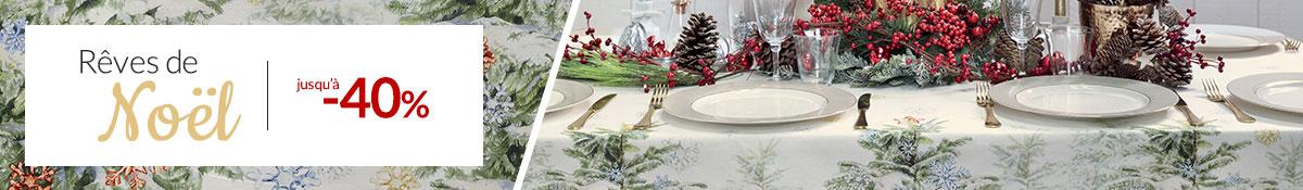 Rêves de Noël : jusqu'à -40%