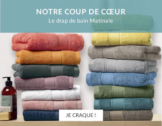 Coup de cœur : le drap de bain Matinale