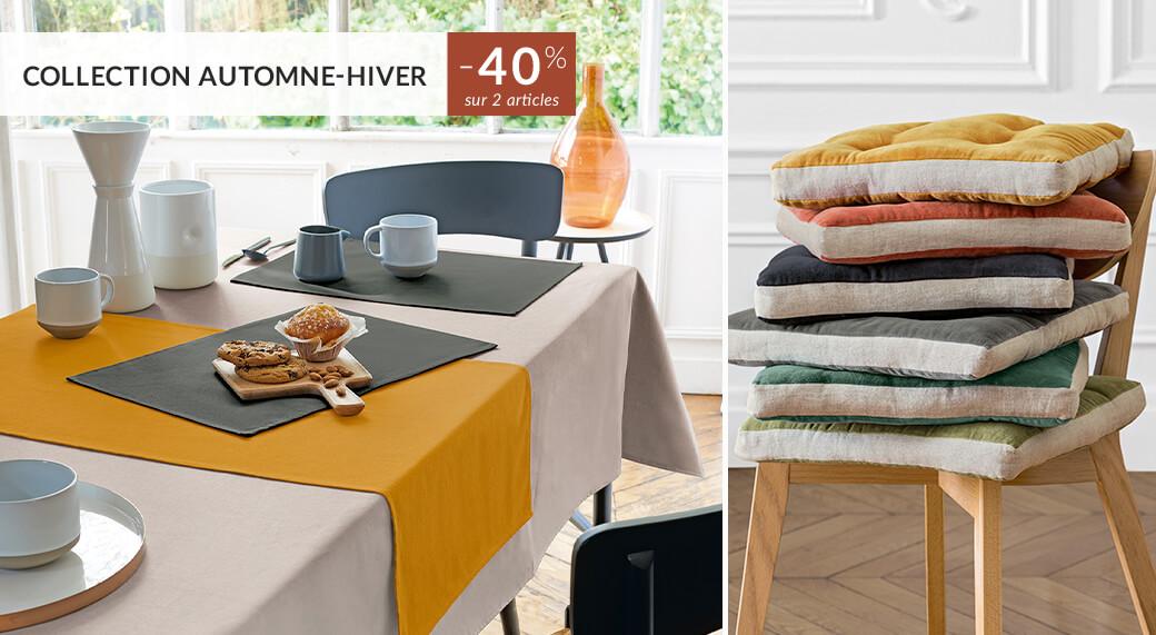 Linvosges : -40% sur 2 articles de la collection automne-hiver