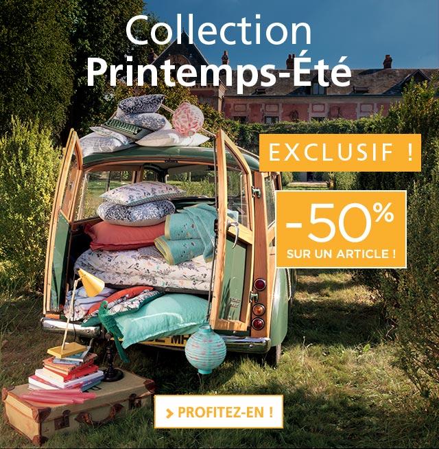 Collection Printemps-été Linvosges : -50% sur votre article préféré !