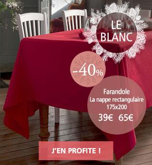 Le Blanc Linvosges : promotion, rabais, réduction jusqu'à -60%