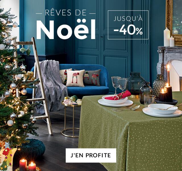 Linvosges : jusqu'à -40% sur la sélection Rêves de Noël