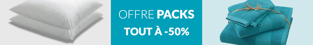 Offre Pack : -50%