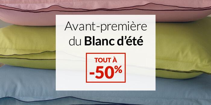Avant-première du Blanc :  -50%