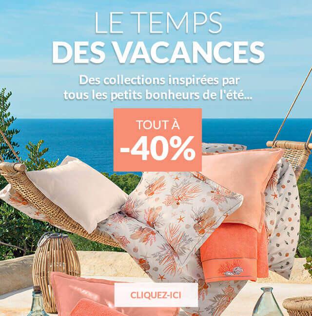 Linge de maison Linvosges : jusqu'à -40% sur notre sélection d'été