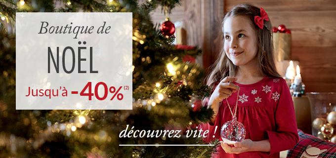 Linge de maison Linvosges : la boutique de Noël