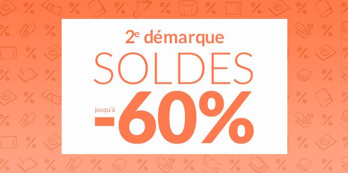SOLDES : jusqu'à -60%