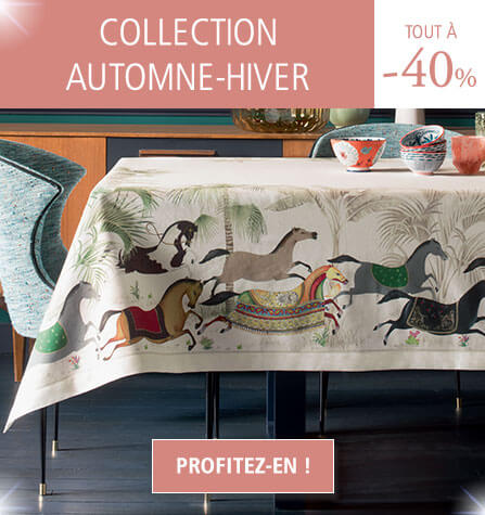 Collection Automne-Hiver Linvosges : tout le linge de maison à -40% !