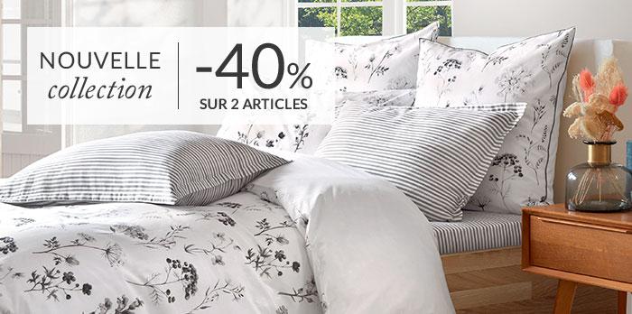 Nouvelle Collection : -40% sur 2 articles