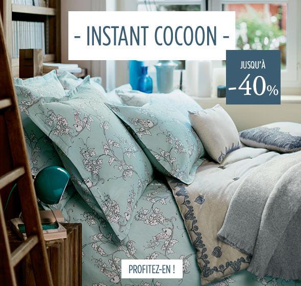 Linvosges Cocooning à la maison : jusqu'à -40% !