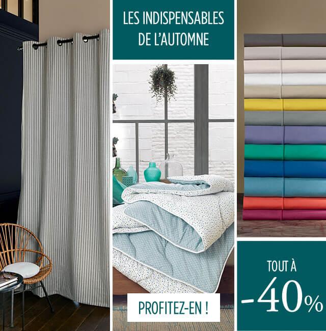 Les indispensables Linge de maison par Linvosges : tout à 40%