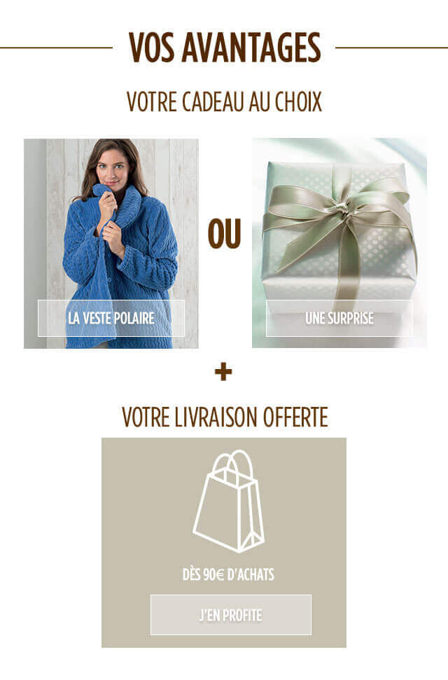 Votre cadeau au choix !
