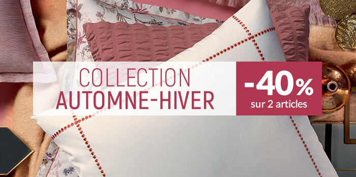 Nouvelle collection : -40% sur 2 articles