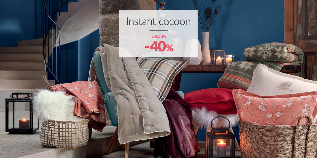 Linge de maison Linvosges : instant cocoon jusqu'à -40%