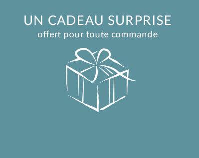 Un cadeau surprise offert pour toutes commandes