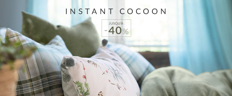 Linvosges : jusqu'à -40% sur la sélection Instant Cocoon