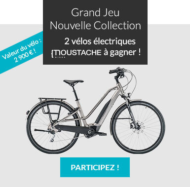 Grand Jeu Nouvelle Collection : 2 vélos électriques Moustache à gagner !