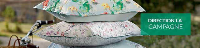 Linvosges : linge de lit, linge de salle de bain, -40% sur 2 articles