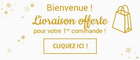 Livraison offerte pour les nouveaux clients Linvosges à partir de 10€