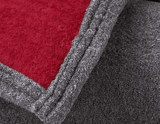 Eco-Kokon grau/rot