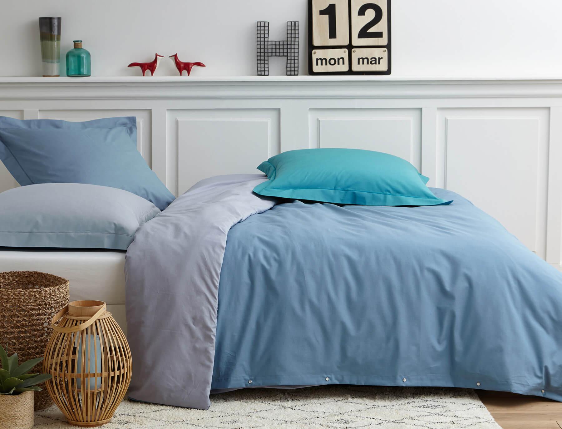 housse de couette fermeture facile good housse de couette fermeture clair roy saco nordico. Black Bedroom Furniture Sets. Home Design Ideas