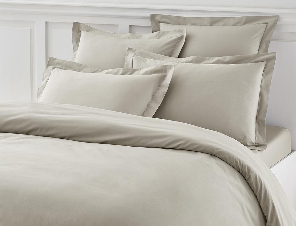 linge de lit percale linvosges. Black Bedroom Furniture Sets. Home Design Ideas