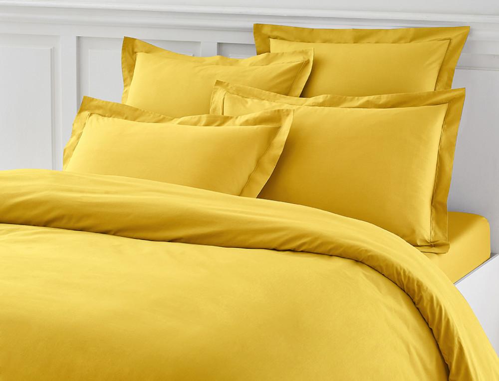 einfarbige bettw sche perkal linvosges. Black Bedroom Furniture Sets. Home Design Ideas