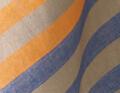 indigo/orange