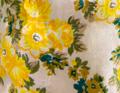 Blumenbeet gelb