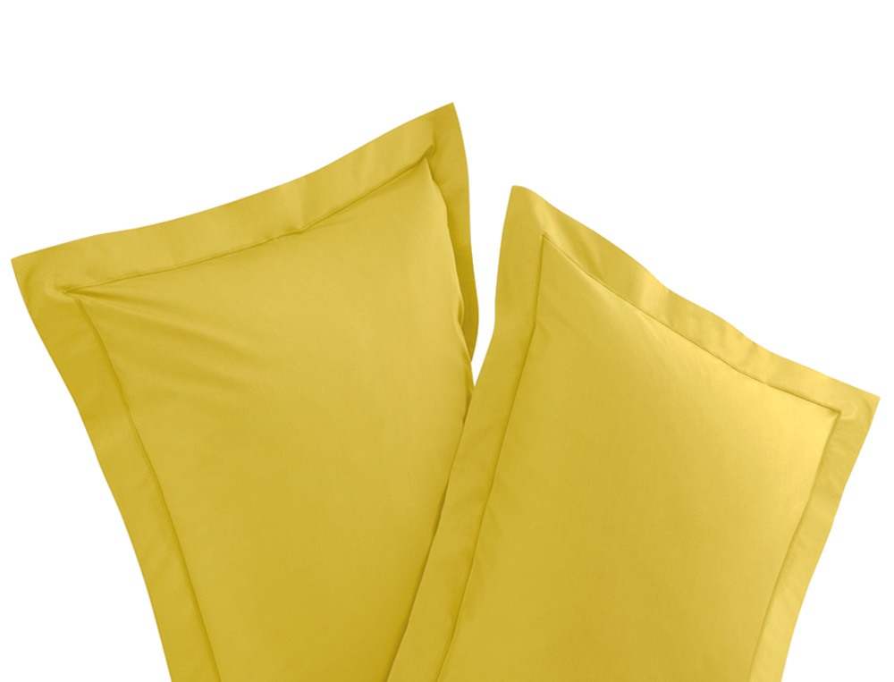 Pack 2 taies d'oreiller Percale