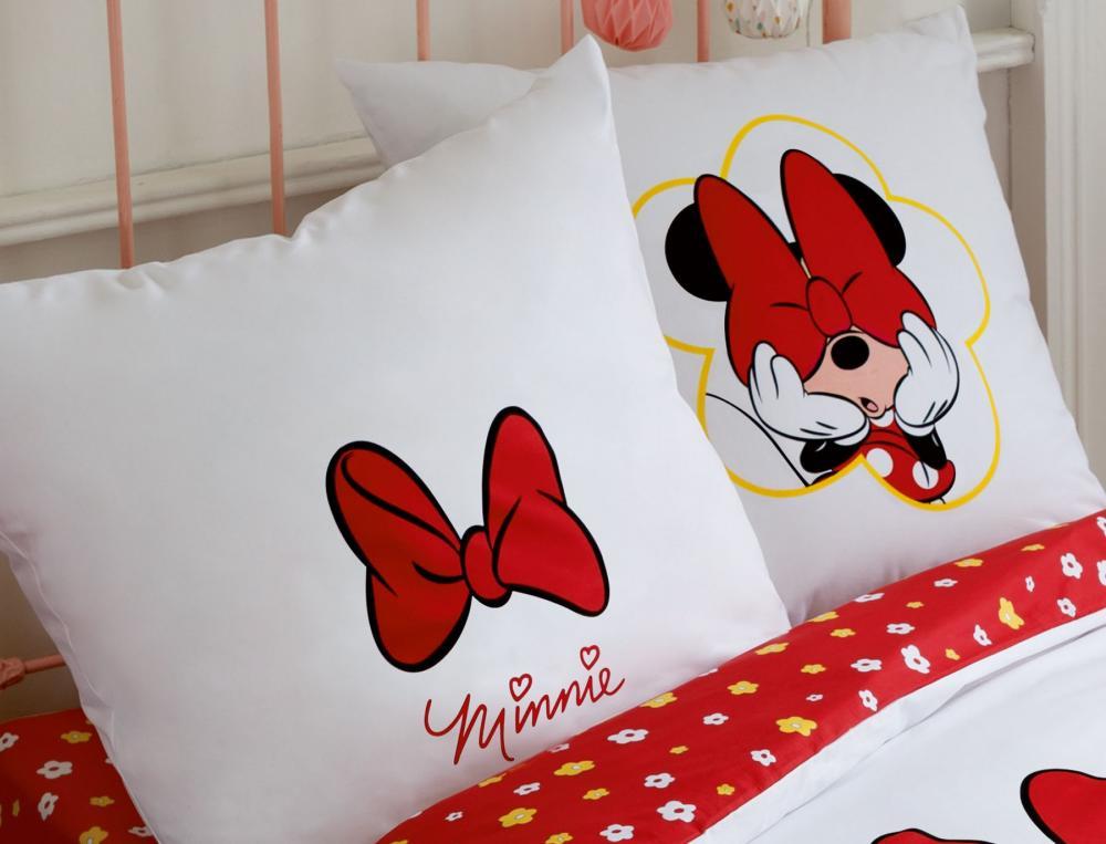 Parure de lit enfant imprimé Minnie