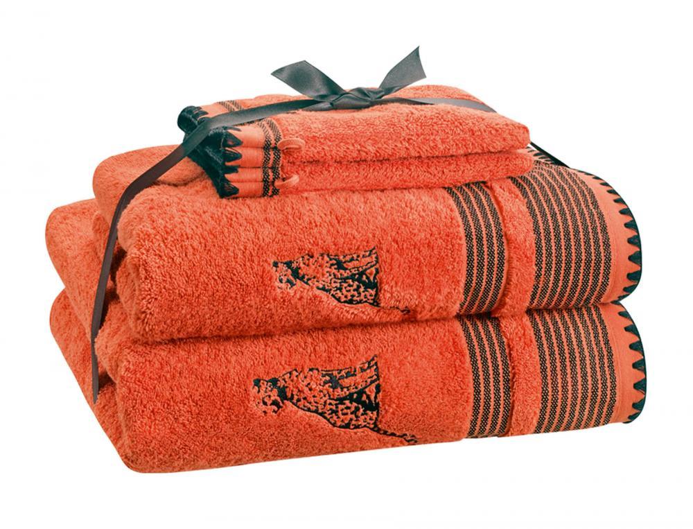 Pack Linge de bain Toile d'ailleurs brodé