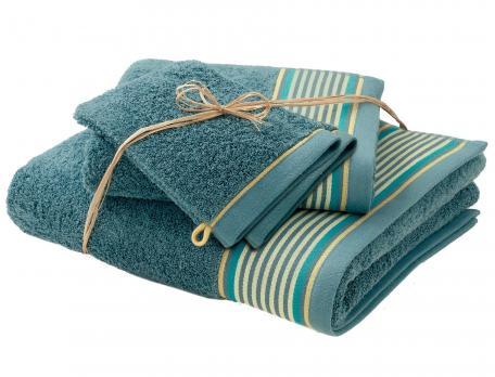 Pack Linge de bain Au diapason 2 gants