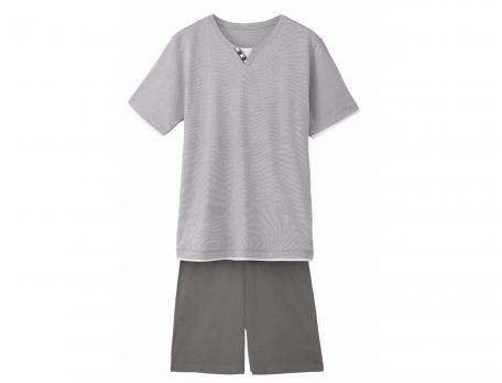 Pyjama An der Seine Baumwolle Linvosges