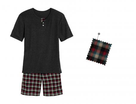 Pyjama et pyjashort Aberdeen