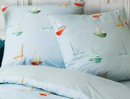 Linge de lit enfant imprimé Promenade en mer