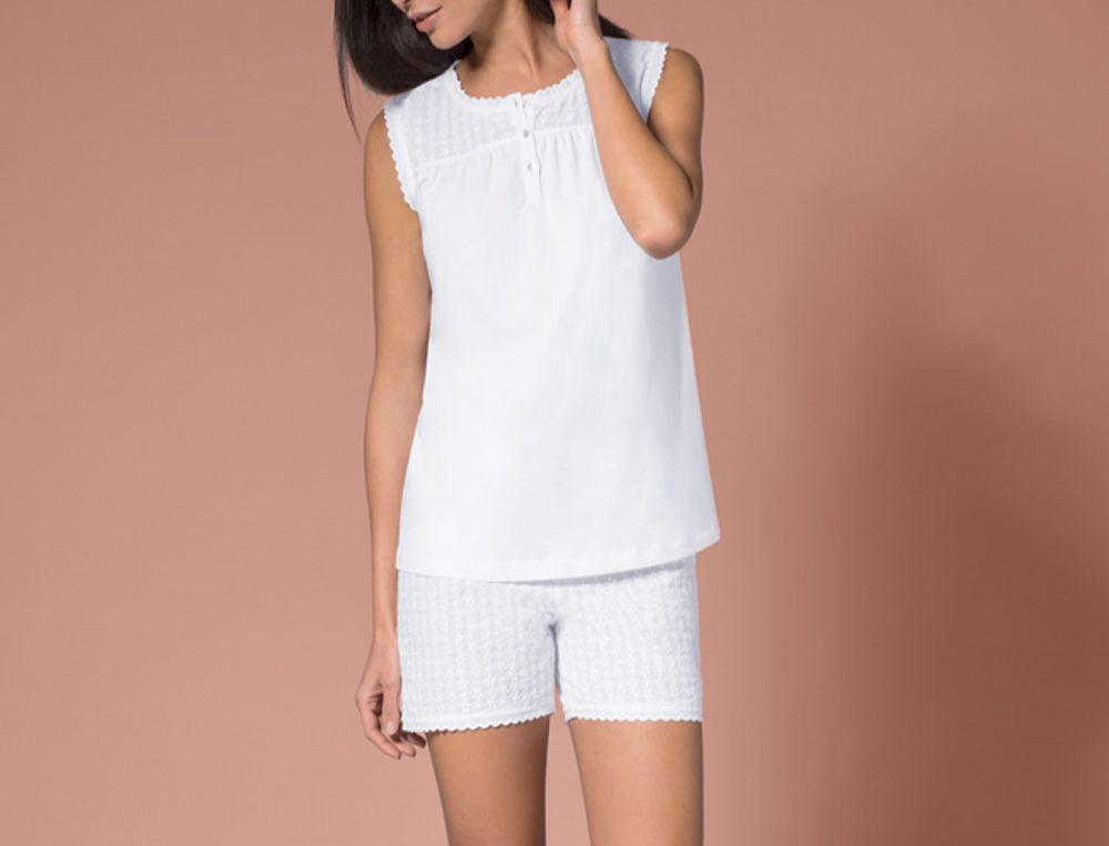 Pyjama Schwaermerei Baumwolle Jersey Linvosges