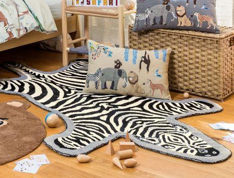 Teppich Kleine Safari Linvosges