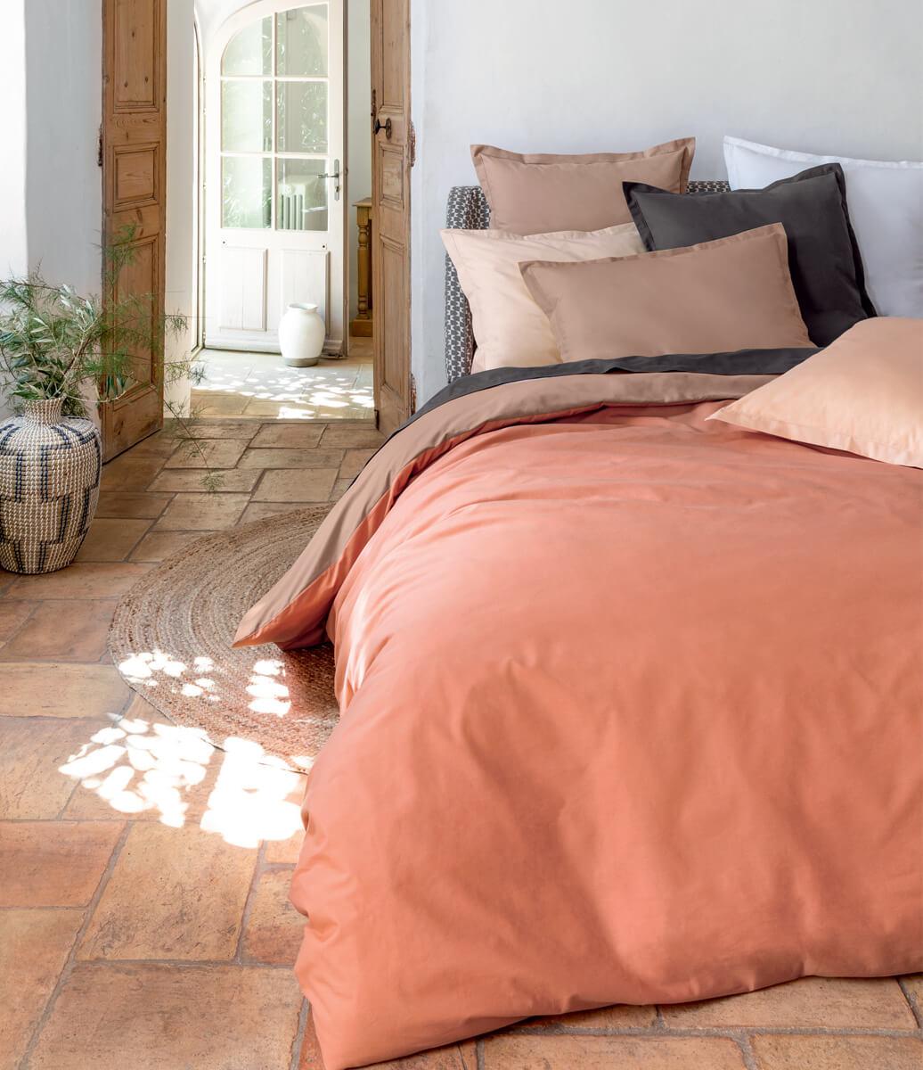 Le linge de lit uni